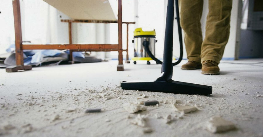 construction cleaning Spokane