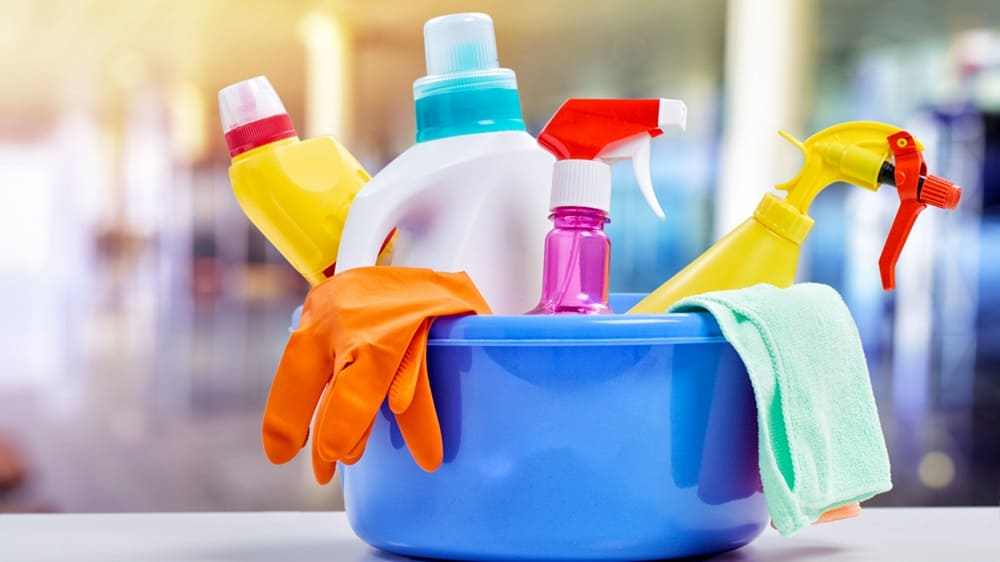 What Cleaning Products Do We Use To Clean Your Home?